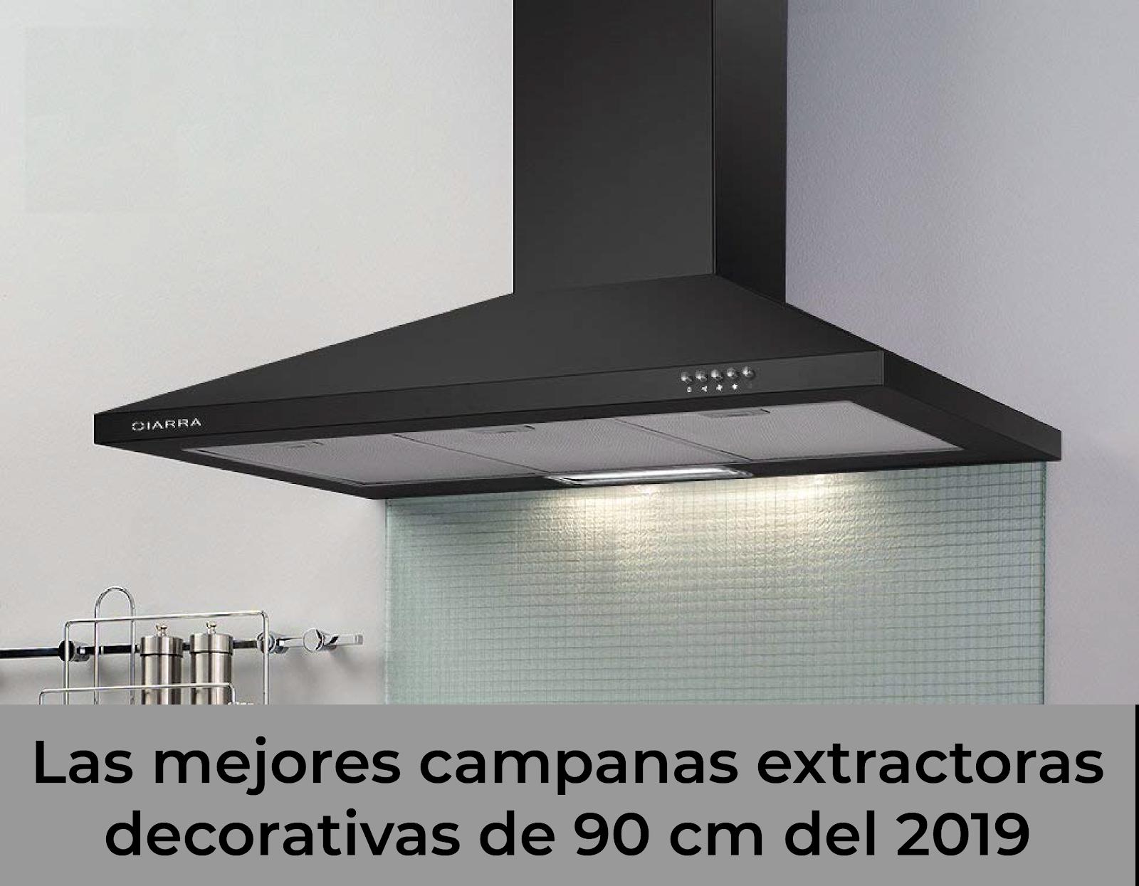 Campanas extractoras decorativas de 90 cm miextractor - Campanas extractoras economicas ...
